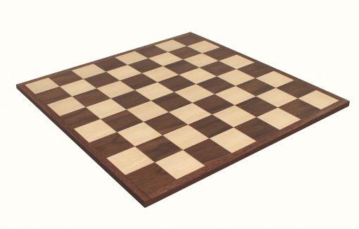 Schachbrett aus hellem Rosenholz