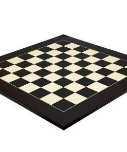 Schachbrett aus Ahorn Modern Schwarz/Weiß