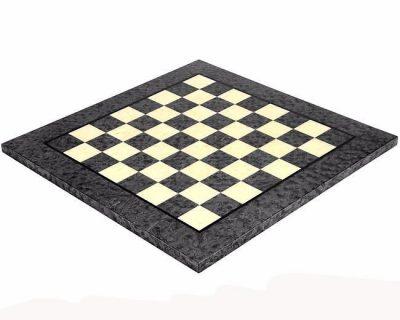 Schachbrett aus Ahorn Grau