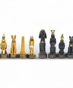 """Schachset aus Kunstharz """"Altes Ägypten"""
