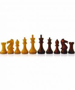 """Schachspiel """"Staunton Eleganz"""" aus Rosenholz"""
